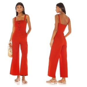 LPA Blanca Button Front Jumpsuit